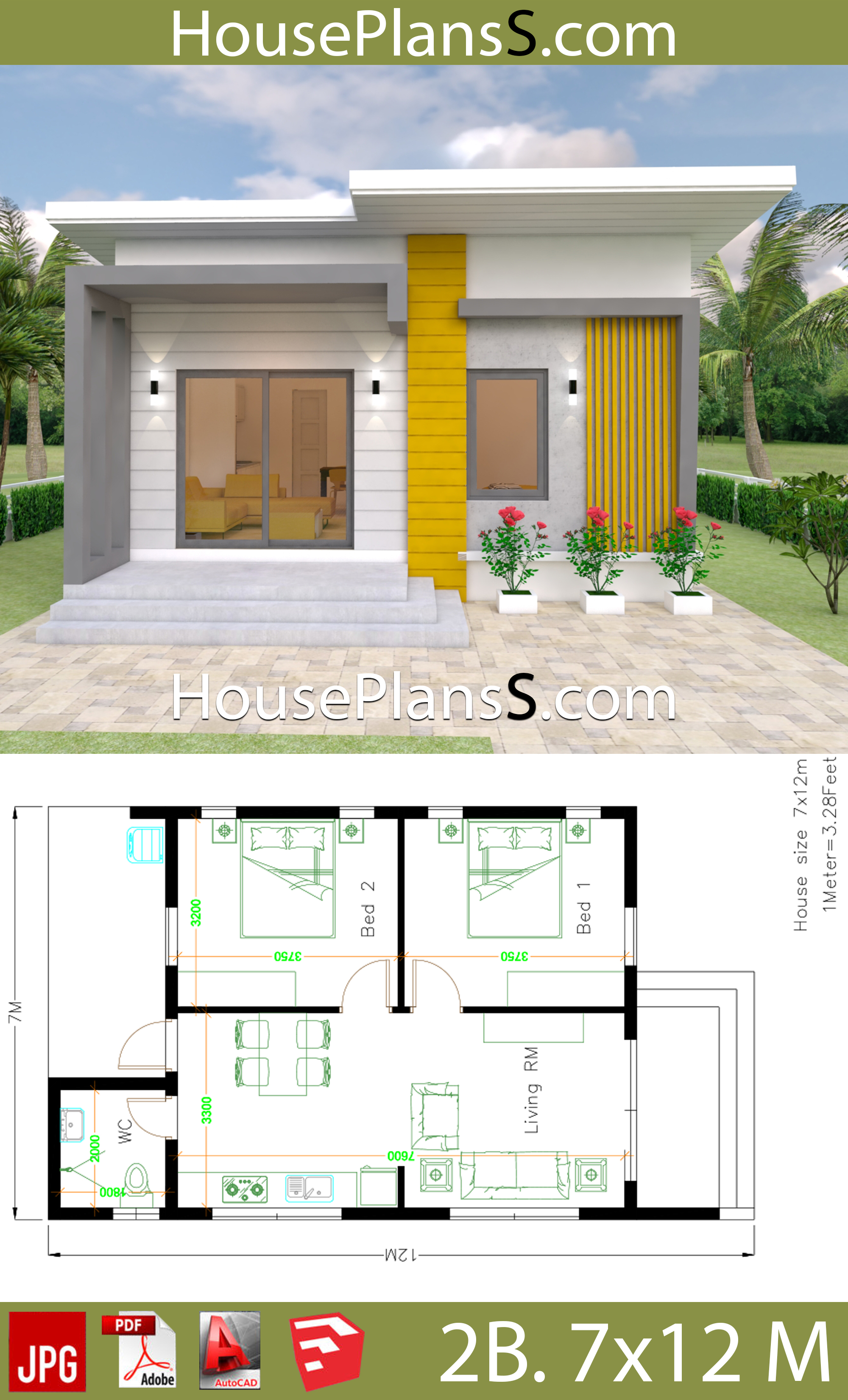House Design Plans 7x12 With 2 Bedrooms Full Plans House Plans Free Downloads,Pendant Lighting For Dining Room Table